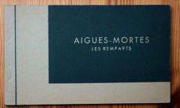 30 : Aigues-Mortes - Les Remparts - Carnet Complet De 10 CPA - TB état - Tour De Constance Salle Des Gardes , Etc. - Aigues-Mortes