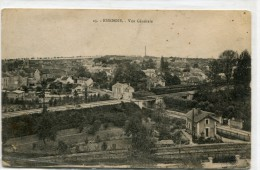 CPA 91 ESSONNES VUE GENERALE - Essonnes