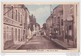 IS SUR TILLE EN COTES D´OR  RUE DE LA GARE - Is Sur Tille