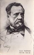 LOUIS PASTEUR POSTCARD - Famous People