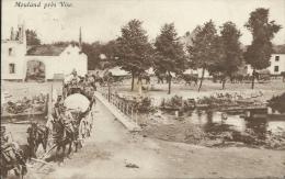 Mouland - Traversée De La Berwinne Par Les Troupes Allemandes  - Feldpost ( Voir Verso ) - Voeren