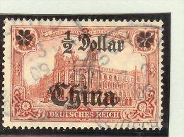 DR Deutsche Post In China Mi# 44 Gestempelt - Offices: China