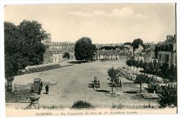 PLOERMEL Vue D'ensemble Du Parc Du 1° D'artillerie Lourde - Ploërmel