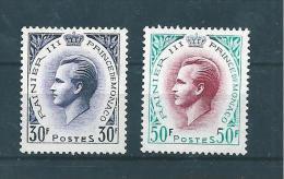 Monaco Timbres De 1959  N°505 Et 507  Neuf * Tres Petite Trace De Charnière - Monaco