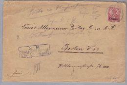 DR Deutsche Post In China 1905-08-08 Brief S.B. Ostas.Besatz Brigade II Bat 1 INF - Offices: China