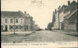 Berchem St Agathe : Chaussée De Gand - St-Agatha-Berchem - Berchem-Ste-Agathe