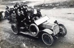 56Ba  C. Photo Automobile Tacot Rochet Schneider Type 10200 Carrosserie Modifiée Pour Transport De 15 Personnes - Voitures De Tourisme