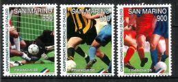 1998 SAN MARINO  Calcio Francia 98   Serie Cpl Nuova ** MNH - San Marino