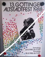 G�ttinger Altstadtfest 1988 - G�ttingen