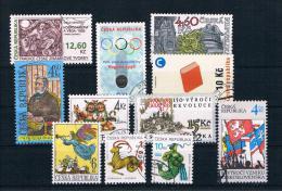 Tschechische Republik 1998 Kleines Lot Gestempelt - Tschechische Republik