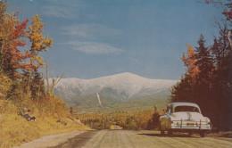 Mount Washington - New Hampshire - Bretton Woods - White Mountains - Car Highway