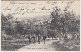 25823g  MURCIA - Santuario De La Fuensanta - 1907 - Murcia