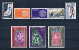 Andorra (französisch) 1970 Mi.Nr. 221-228 Kpl. Jahrgang ** - French Andorra