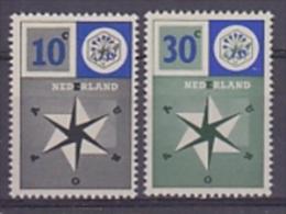 Europa Cept 1957 Netherlands 2v ** Mnh (LT1254) - 1957