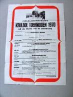 OOSTBURG. Krulbol toernooien 1970 bij de Oude Tol. VVV. Keizerbolling tornooi Nederland-Belgie