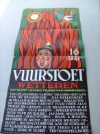 WETTEREN Vuurstoet 16 September 1962. Druk Morjos Gent. - Manifesti