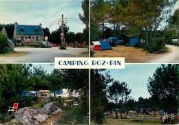 PONT AVEN LE CAMPING DE ROZ PIN CARTE MULTIVUES - Pont Aven