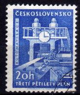 CSSR 1961 - Uhr Am Walzkraftwerk - Uhrmacherei