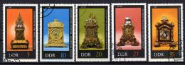DDR 1975 - Alte Uhren, Clocks - Uhrmacherei