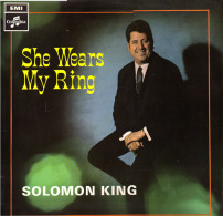 * LP *  SOLOMON KING - SHE WEARS MY RING (England 1968 EX!!!) - Disco, Pop