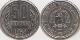 Bulgaria 50 Stotinki 1962 Km#64 - Used - Bulgaria