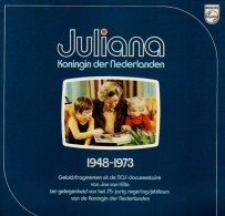 * LP *  JULIANA, KONINGIN DER NEDERLANDEN 1948-1973 (Holland 1973 EX!!!) - Vinyl-Schallplatten