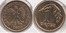 Polonia 1 Grosz 2005 Km#276 - Used - Polonia
