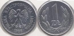 Polonia 1 Zloty 1986 Km#49.2 - Used - Polonia