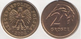 Polonia 2 Grosze 2002 Km#277 - Used - Polonia