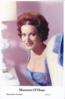 MAUREEN O' HARA - Film Star Pin Up - Publisher Swiftsure Postcards 2000 - Sin Clasificación