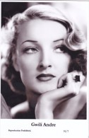 GWILI ANDRE - Film Star Pin Up - Publisher Swiftsure Postcards 2000 - Postales