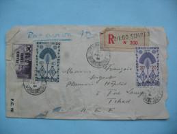 De Diego Suarez à Fort Lamy 22 Août 1944 - Madagascar (1889-1960)