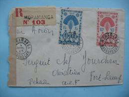 De Moramanga à Fort Lamy 4 Avril 1945 - Madagascar (1889-1960)