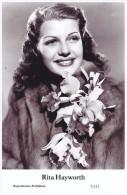 RITA HAYWORTH- Film Star Pin Up - Publisher Swiftsure Postcards 2000 - Postales