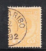 W3086 - SURINAME 1873 , 2 Cent N. 2 Usato - Suriname ... - 1975