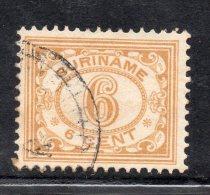 W3107 - SURINAME 1922 ,  N. 90  Usato - Suriname ... - 1975