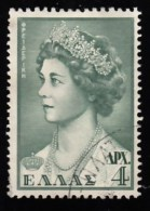 GREECE - Scott #597 Queen Frederica (*) / Used Stamp - Grèce