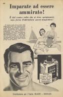 # AQUA VELVA WILLIAMS AFTER SHAVING JBCompany 1950s Advert Pubblicità Publicitè Reklame Parfum Profumo Cosmetics - Sin Clasificación