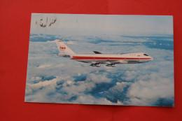 CARTE POSTALE CPSM POST-CARD BOEING AVION DE LA TWA LITHO IN USA UNITED STATES OF AMERICA  VOYAgé - 1946-....: Moderne