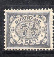 W3110 - SURINAME 1901 , N. 47  Senza Gomma - Suriname ... - 1975