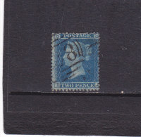 GB 1854 Yvert  9 Oblitéré, Used  Cote : 110 Euros - 1840-1901 (Victoria)