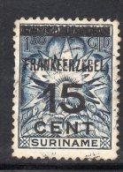 W3112 - SURINAME 1927 , N. 127 Usato - Suriname ... - 1975