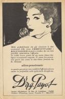 # Dr. PAYOT (type 4) CREME HYDRATANTE 1950s Advert Pubblicità Publicitè Reklame Cream Creme Hydratante Protector Beautè - Parfums & Beauté