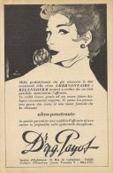 # Dr. PAYOT (type 4) CREME HYDRATANTE 1950s Advert Pubblicità Publicitè Reklame Cream Creme Hydratante Protector Beautè - Unclassified
