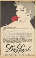 # Dr. PAYOT (type 5) CREME HYDRATANTE 1950s Advert Pubblicità Publicitè Reklame Cream Creme Hydratante Protector Beautè - Parfums & Beauté