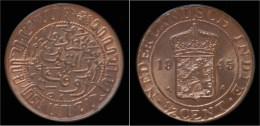 Netherlands Indies 1/2 Cent 1945- UNC - [ 4] Colonias