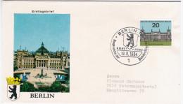 Germany Deutschland 1964 FDC Berlin, Canceled In Berlin - [7] Federal Republic