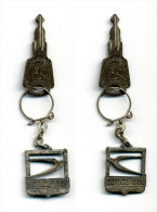 Porte-clé SIMCA, Avec Clé (SIMCA 1300 - SIMCA 1500) - Porte-clefs