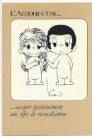 12801 - L´Amour C´est... Accepter Gracieusement Une Offre De Réconciliation  Illustrateur Kim - Humour