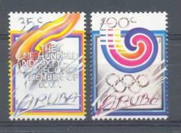 Mnx0049 SPORT OLYMPISCHE SPELEN IOC  I.O.C. OLYMPIC GAMES OLYMPIADE SEOUL ARUBA 1988 PF/MNH - Sommer 1988: Seoul